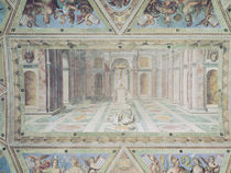 Triumph of Christianity, from the Raphael Rooms by Tommaso Laureti