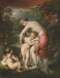 Venus and Cupid, 1809 by Henry Howard