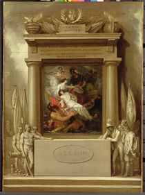 Project for a Monument, 'The Apotheosis of Nelson' by Benjamin West