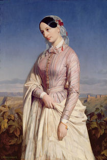 Portrait of a Woman, c.1846 by Edouard Louis Dubufe