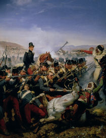 The Battle of Somah, 1839 by Emile Jean Horace Vernet