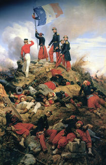 The Taking of Malakoff, 1858 von Emile Jean Horace Vernet