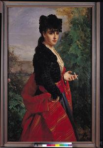 Portrait of a Spanish Woman von Heinrich Wilhelm Schlesinger