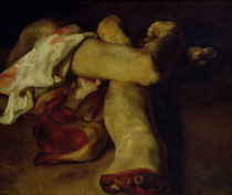 Anatomical Pieces by Theodore Gericault