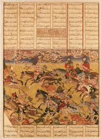 The Charge of the Cavaliers of Faramouz von Persian School
