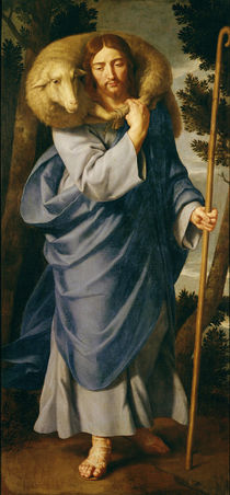 The Good Shepherd von Philippe de Champaigne