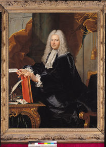 Portrait of Philibert Orry by Hyacinthe Rigaud
