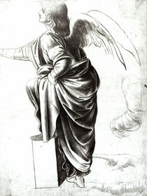 Study of an Angel by Leonardo Da Vinci