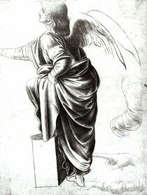 Study of an Angel von Leonardo Da Vinci