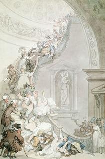 The Exhibition 'Stare-Case' von Thomas Rowlandson