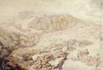 Bodmin Moor, North Cornwall von Thomas Rowlandson