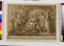 Achilles Lamenting the Death of Patroclus von Gavin Hamilton