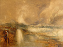 Rockets and Blue Lights, 1855 by Joseph Mallord William Turner