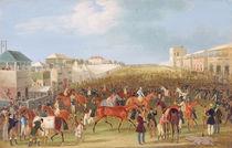 Epsom Races: The Race Over von James Pollard