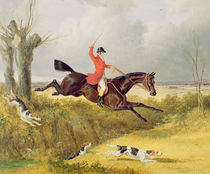 Clearing a Ditch, 1839 by John Frederick Herring Snr