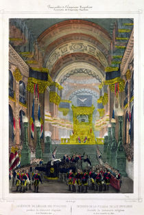 The Arrival of Napoleon's Ashes at L'Eglise des Invalides by French School