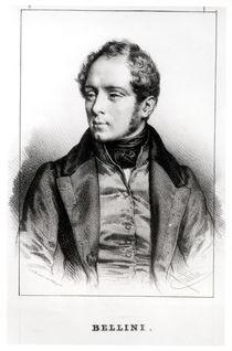 Portrait of Vincenzo Bellini by Benard