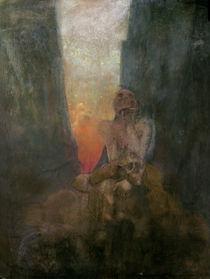 The Abyss, 1899 von Alphonse Marie Mucha