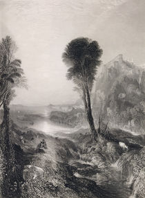 Mercury and Argus, engraved by James T. Willmore 1841 von Joseph Mallord William Turner