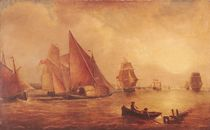 Estuary of the Thames and the Medway von Joseph Mallord William Turner