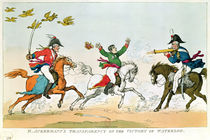 The Battle of Waterloo, 18th June 1815 by English School