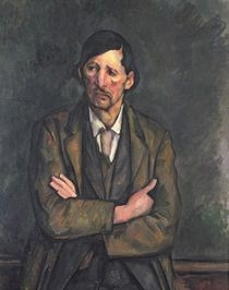 Man with Crossed Arms, c.1899 von Paul Cezanne