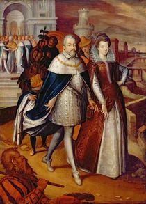 Portrait of Ferdinand I Grand Duke of Tuscany von Frans II Pourbus