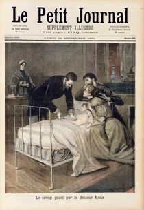 The Croup Cured by Doctor Roux von Lionel Royer