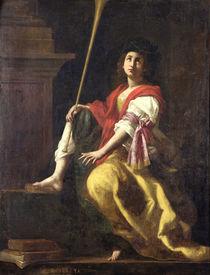 Clio, Muse of History, 1624 by Giovanni Baglione