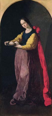St. Agatha von Francisco de Zurbaran