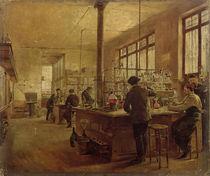 The Laboratory, 1887 von Ferdinand Joseph Gueldry