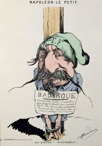 'Napoleon le Petit', caricature of Louis-Napoleon Bonaparte 1870 by Charles Frondat