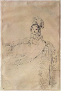 Portrait of Madame Louis-Nicolas-Marie Destouches 1816 by Jean Auguste Dominique Ingres