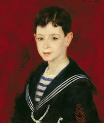 Portrait of Fernand Halphen 1880 by Pierre-Auguste Renoir
