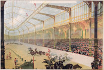 Poster of the Hippodrome de l'Alma by French School