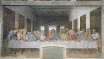 The Last Supper, 1495-97 von Leonardo Da Vinci