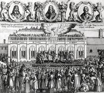The Beheading of King Charles I 1649 von Dutch School