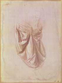 Drapery study von Leonardo Da Vinci