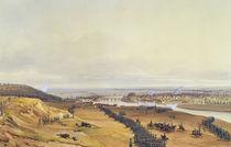 Battle of Montereau, 18th February 1814 by Jean Antoine Simeon Fort