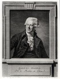 Portrait of Pascal Paoli, engraved by Benoit Louis Henriquez 1793 by Martin Drolling