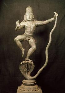 Kaliya Krishna by Indian School