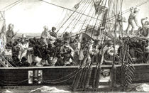 Transport of Slaves in the Colonies von Pretextat Oursel
