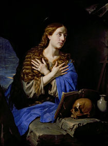 The Penitent Magdalene, 1657 by Philippe de Champaigne