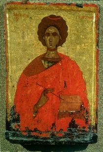 Icon of St. Pantaleon of Nicomedia von Byzantine