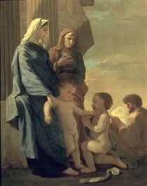 The Holy Family by Nicolas Poussin