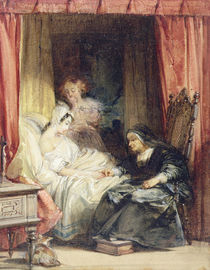 The Use of Tears, 1827 by Richard Parkes Bonington