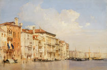 Grand Canal, Venice by Richard Parkes Bonington