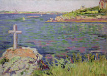 Saint-Briac, the Sailor's Cross by Paul Signac