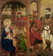 Adoration of the Magi, c.1475 by Martin Schongauer
