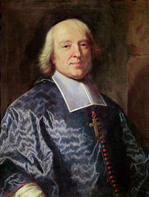 Portrait of Jacques Benigne Bossuet 1693 by Hyacinthe Francois Rigaud